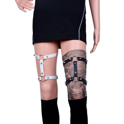 Night Angel Garters (Vegan)  - Cradle Of Goth
