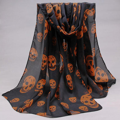 Laughing Death Shawl  - Cradle Of Goth