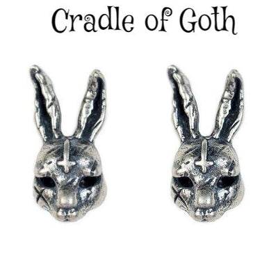 Frank Earrings (925 Silver)  - Cradle Of Goth