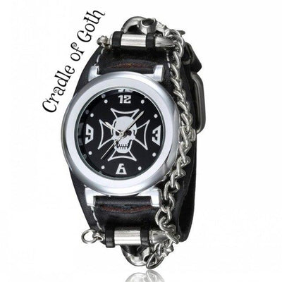 Dangerous Watch black dial - Cradle Of Goth