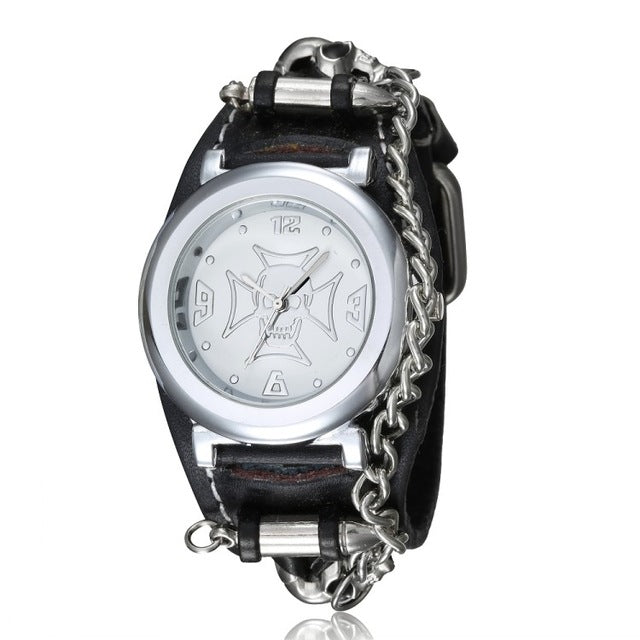 Dangerous Watch white dial - Cradle Of Goth