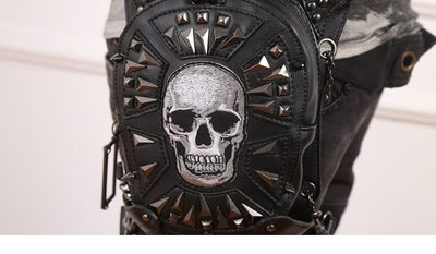 The Tough Lady Bag (Handmade, Vegan)  - Cradle Of Goth