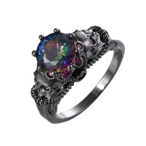 Calming Darkness Ring 6 / rings for women - Cradle Of Goth