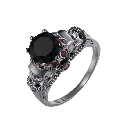 Calming Darkness Ring 6 / rings for MEN - Cradle Of Goth