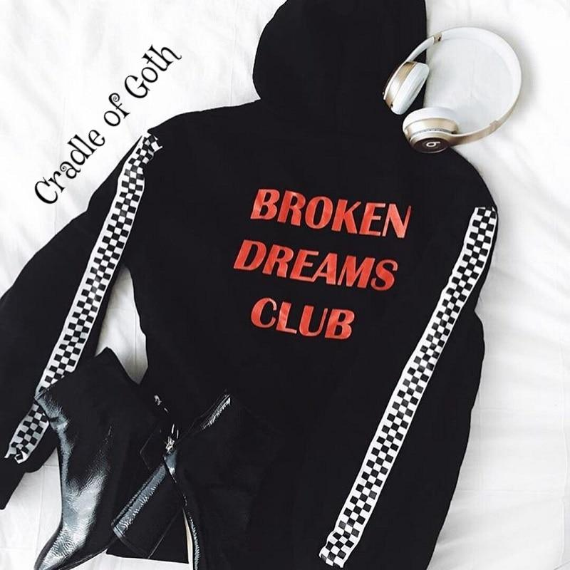 Broken Dreams Club Hoodie  - Cradle Of Goth