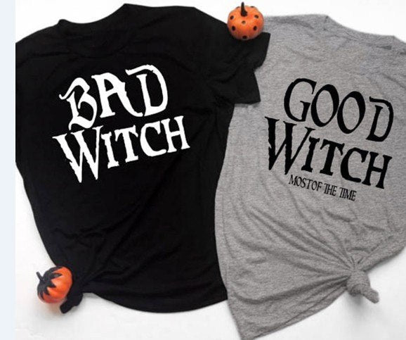 Bad Witch/Good Witch T-shirt  - Cradle Of Goth