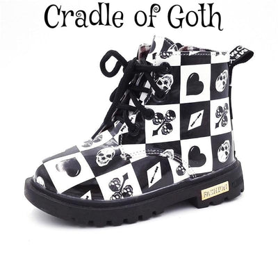 Little Devil (Kids Boots)  - Cradle Of Goth