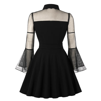 Vampire Dress (plus sizes available)  - Cradle Of Goth