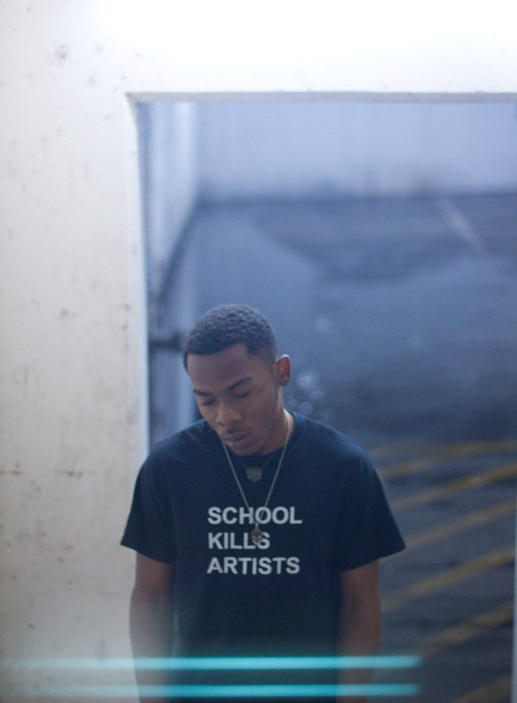 School Kills Artists T-Shirt  - Cradle Of Goth