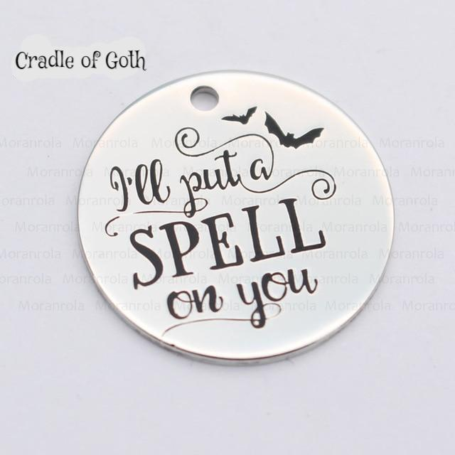 I Put A Spell On You Necklace  - Cradle Of Goth