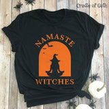 Namaste Witches T-shirt  - Cradle Of Goth