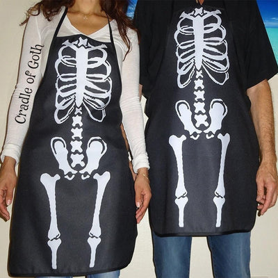 Skeleton Apron  - Cradle Of Goth
