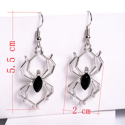 Spider Attack Earrings  - Cradle Of Goth