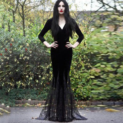 Morticia's Spirit Dress  - Cradle Of Goth