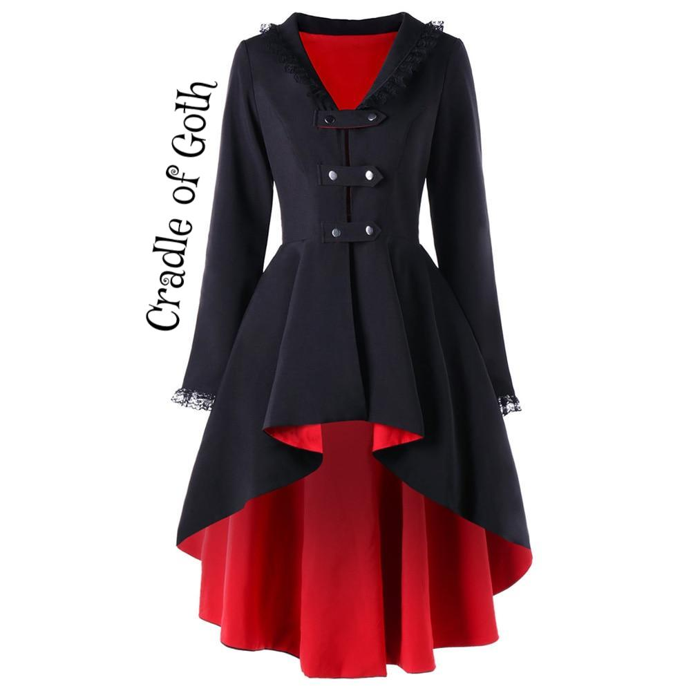 Melisandre Coat red A / M / China - Cradle Of Goth