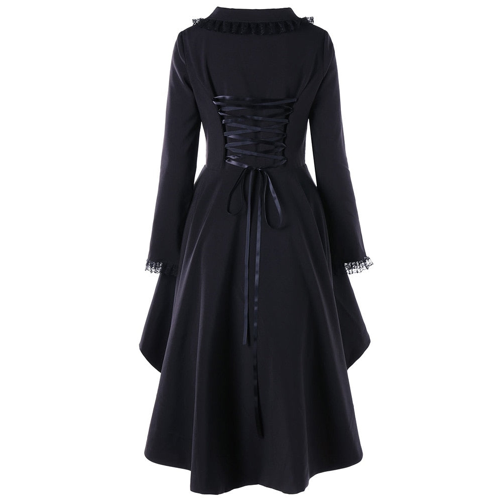 Melisandre Coat Black A / M / China - Cradle Of Goth