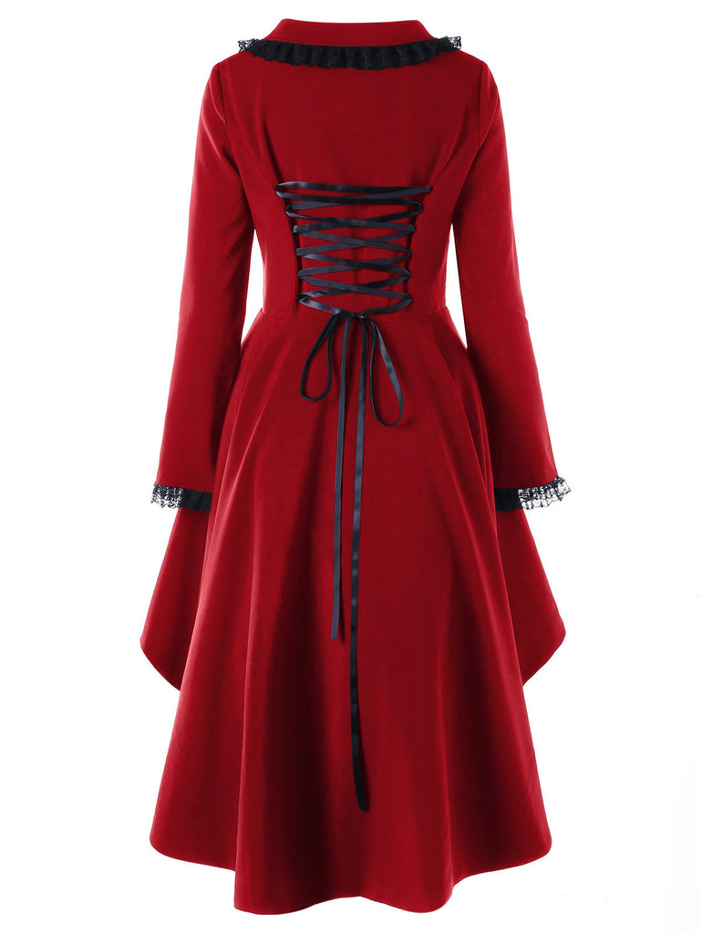 Melisandre Coat  - Cradle Of Goth