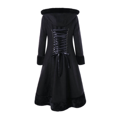 Winter Sorceress Coat  - Cradle Of Goth