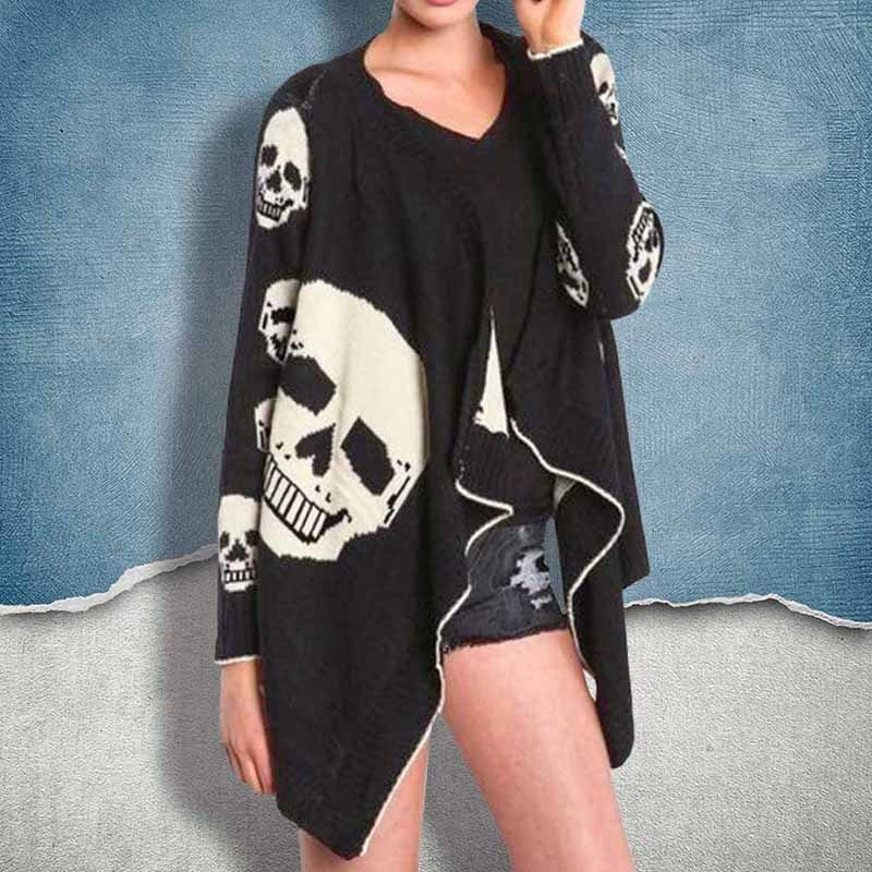 Gravely Cardigan (long sleeve)  - Cradle Of Goth