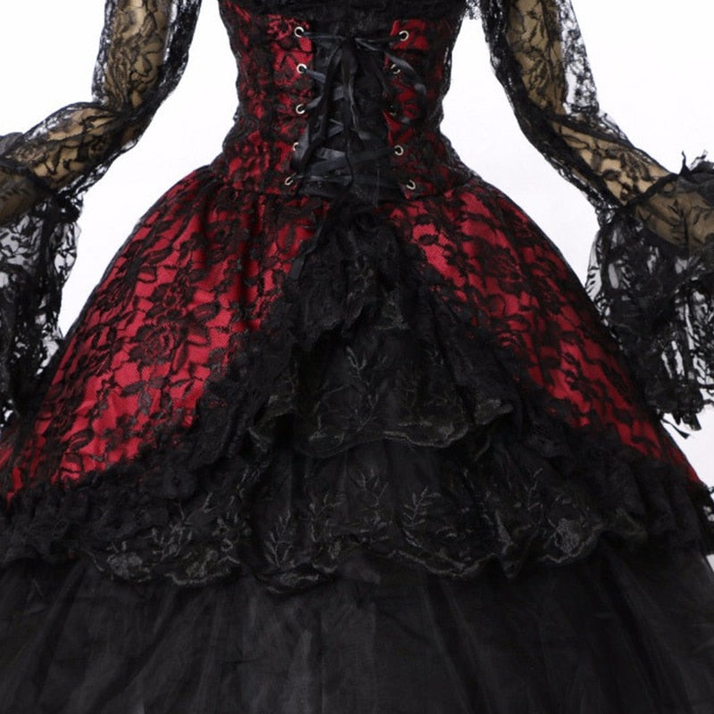 Victorian Royalty Dress  - Cradle Of Goth