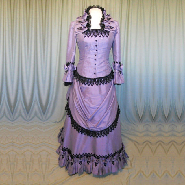 Victorian Royalty Dress As Picture 1 / XS - Cradle Of Goth