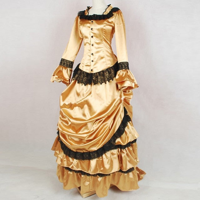 Victorian Royalty Dress As Picture 4 / XS - Cradle Of Goth