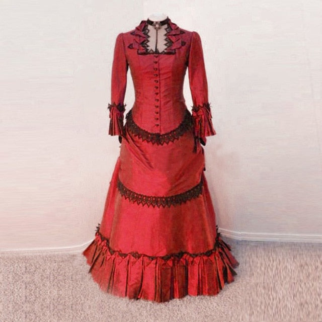 Victorian Royalty Dress As Picture 5 / XS - Cradle Of Goth
