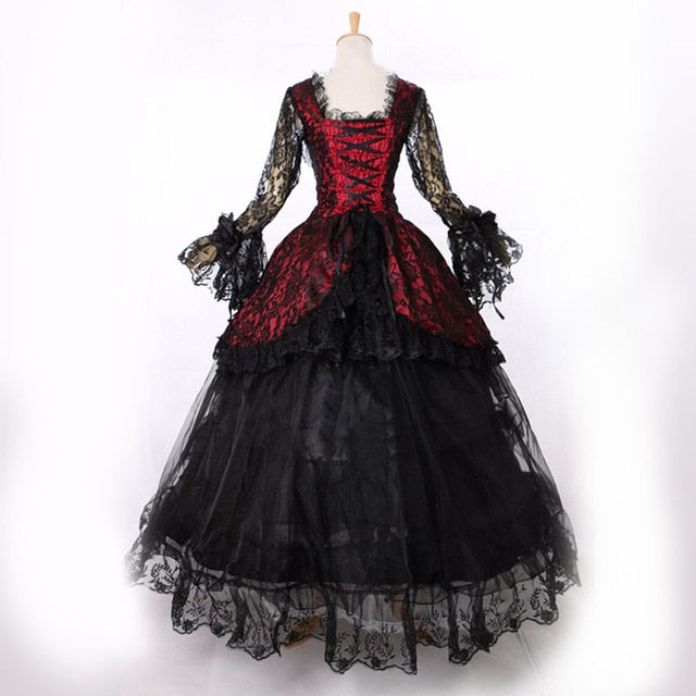 Victorian Royalty Dress As Picture / XS - Cradle Of Goth