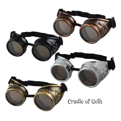 Steampunk Goggles  - Cradle Of Goth