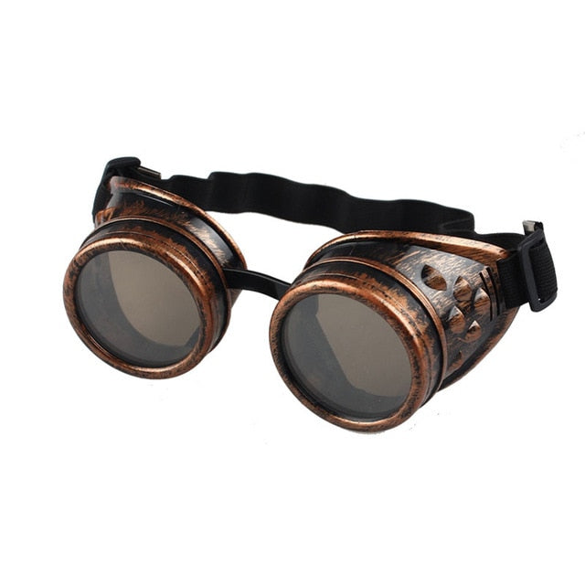Steampunk Goggles Red - Cradle Of Goth