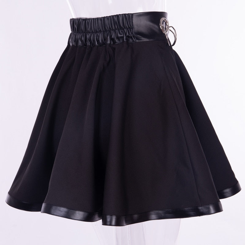 Goth Queen Skirt  - Cradle Of Goth