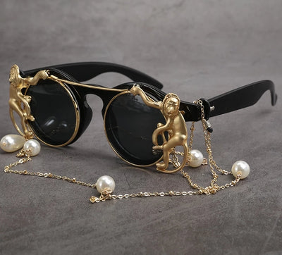 Classy Baboons Sunglasses  - Cradle Of Goth