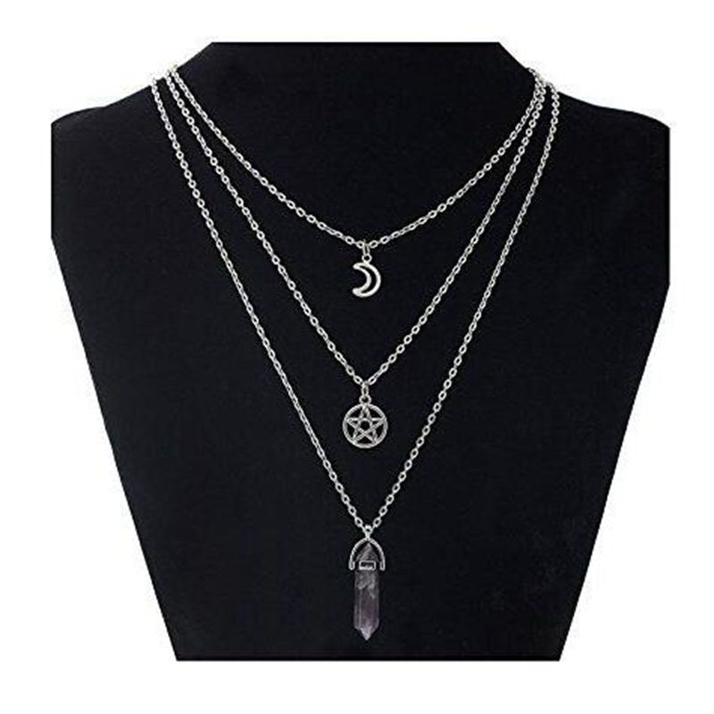 Occult Trinity Necklace  - Cradle Of Goth