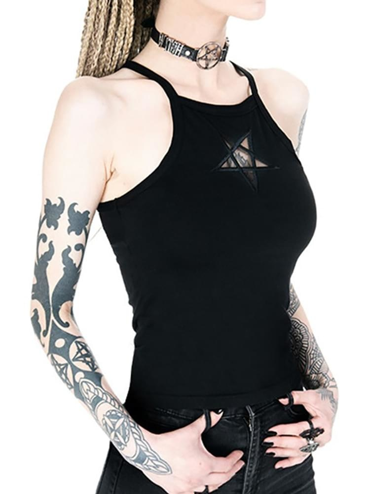 Devil's Little Sister Tank-top  - Cradle Of Goth