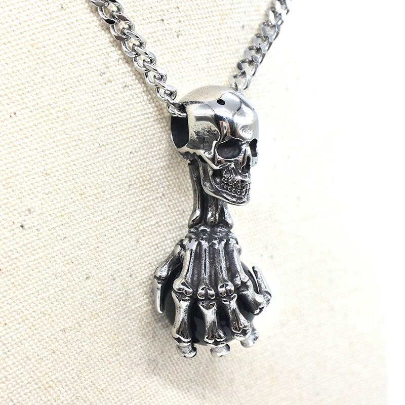 The Power of Death Necklace  - Cradle Of Goth