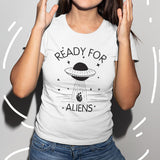 Alien T-Shirt White / S - Cradle Of Goth