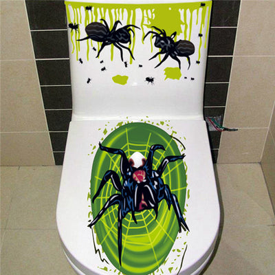 Horror Bathroom Stickers  - Cradle Of Goth