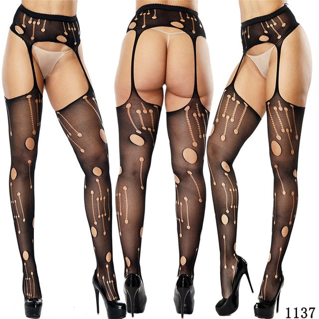 Garter Stockings 3 - Cradle Of Goth