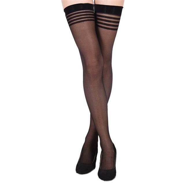 Garter Stockings 15 - Cradle Of Goth
