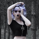 Crop-top from Hell  - Cradle Of Goth