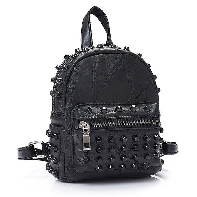 Small Demon Backpack (Vegan Leather) Default Title - Cradle Of Goth
