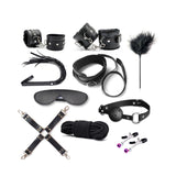 Kinky Set (10 pieces) Black - Cradle Of Goth