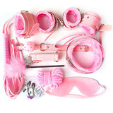 Kinky Set (10 pieces) Pink - Cradle Of Goth
