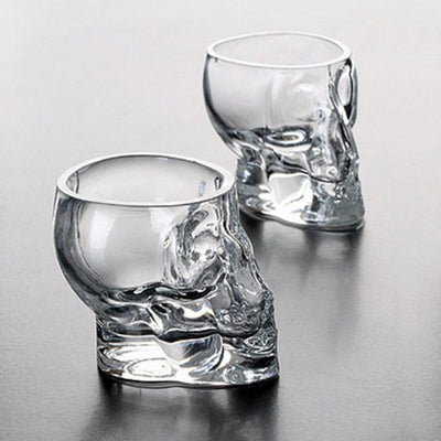 Crystal Skull Glass  - Cradle Of Goth