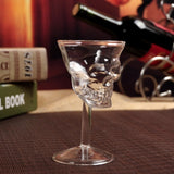 Crystal Skull Glass 12cm - Cradle Of Goth