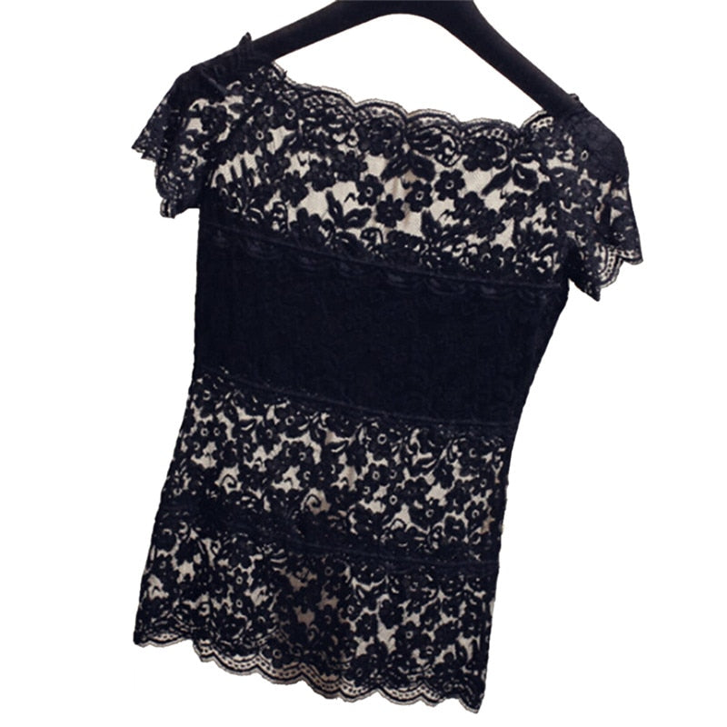 Lace Blouse  - Cradle Of Goth