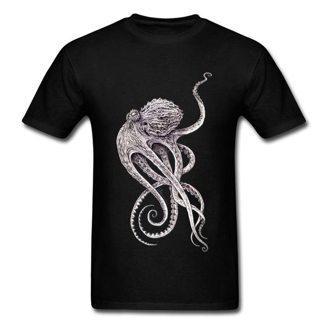 Lord Cthulhu T-shirt Black / XS - Cradle Of Goth