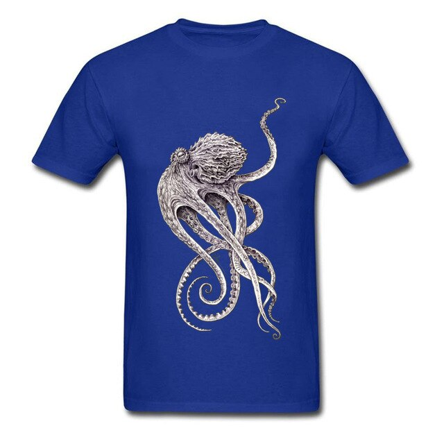 Lord Cthulhu T-shirt Blue / XS - Cradle Of Goth