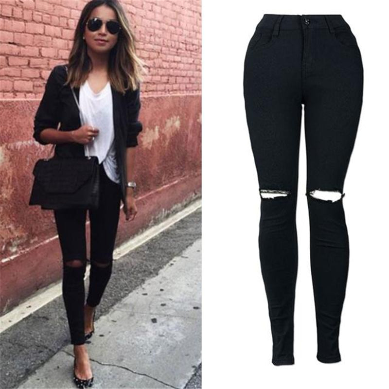 Jessica Plus Size Soft Stretch Skinny Jeans