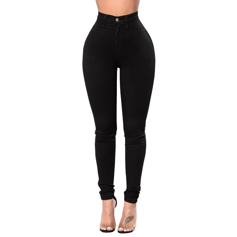 Hold Me Tight High Waist Skinny Stretch Jeans